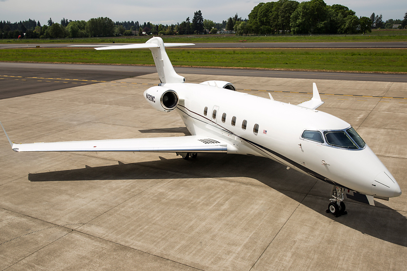 Challenger 300 at Global Aviation