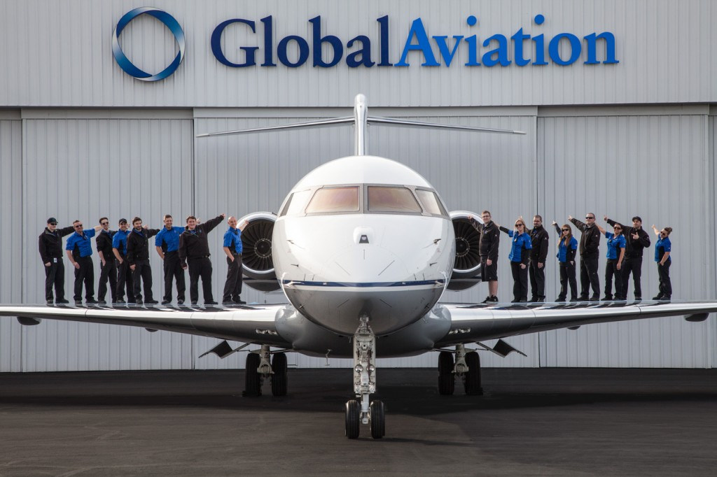 Global Aviation provides a full-range of FBO services from its state-of-the-art hangar at the Portland-Hillsboro Airport (KHIO)