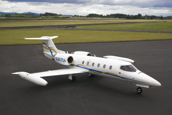 Lear 35 N367DA at Global Aviation