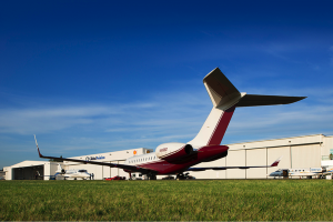 Global Aviation's new and largest hangar offers space for increased maintenance, FBO, and charter services