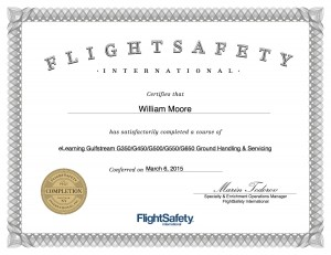 Global Aviation Receives Gulfstream Service and Training Award