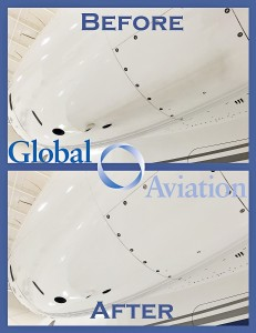 New polishing technique at Global Aviation