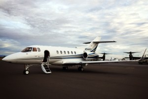Global Aviation's PDX-based Hawker 800XP