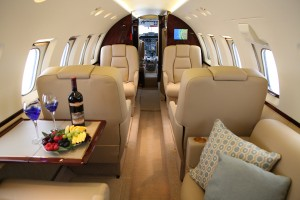 Global Aviation's Hawker 800XP is available for private charter