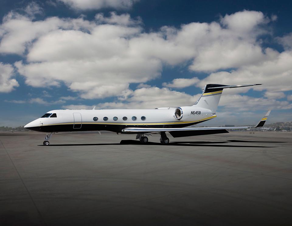 Gulfstream G-V, aircraft, charter