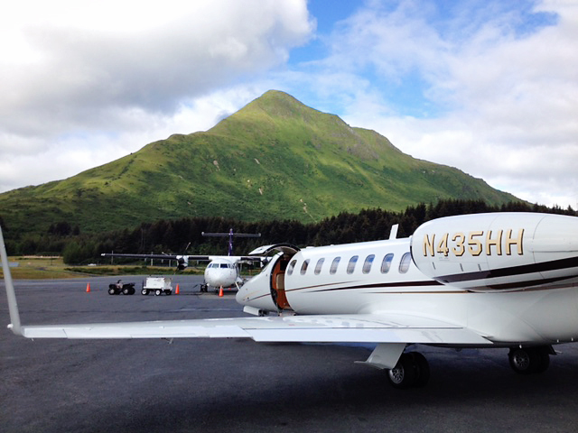 The Lear 45XR's comfort and speed make it ideal for trans-Atlantic flights